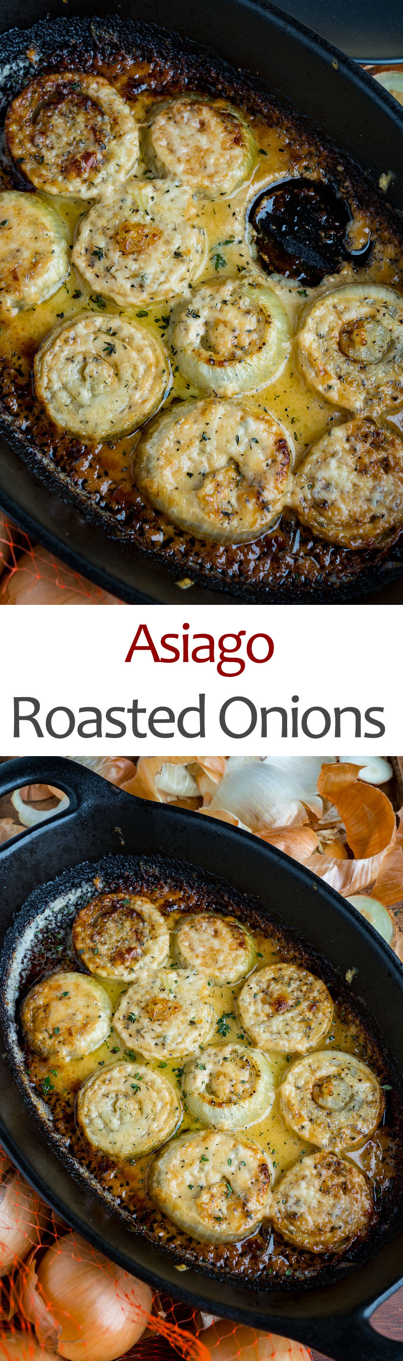 Asiago Roasted Onions