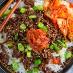 20 Minute Korean Beef