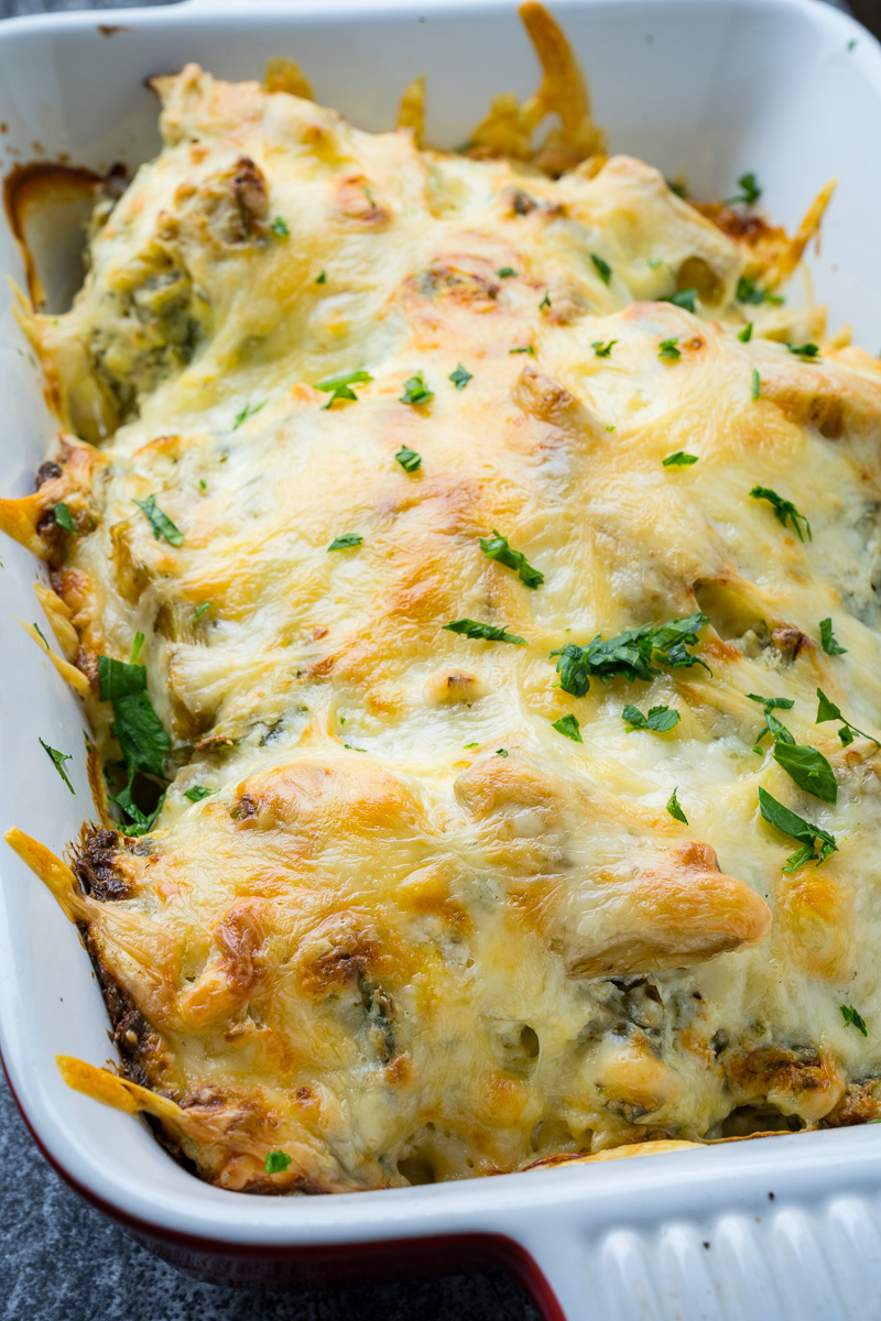 Spinach and Artichoke Baked Chicken