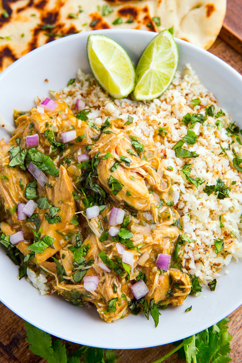 Slow Cooker Thai Basil Chicken Curry