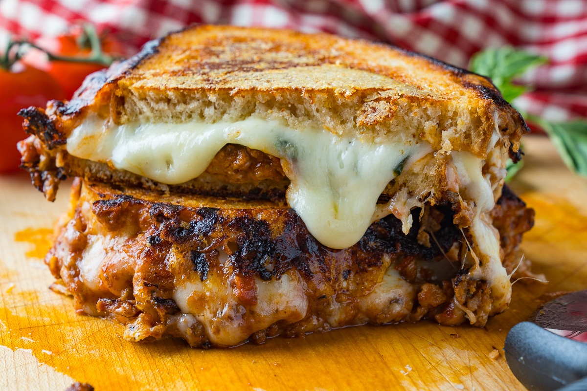 Bolognese Grilled Cheese