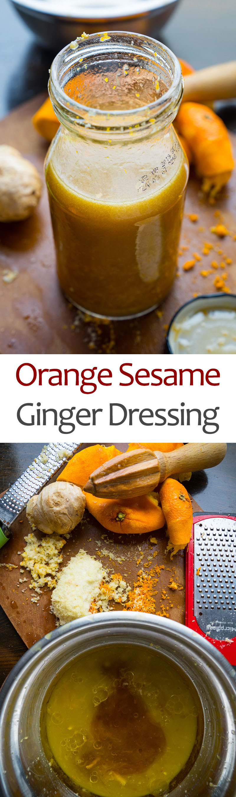 Orange Sesame Ginger Dressing