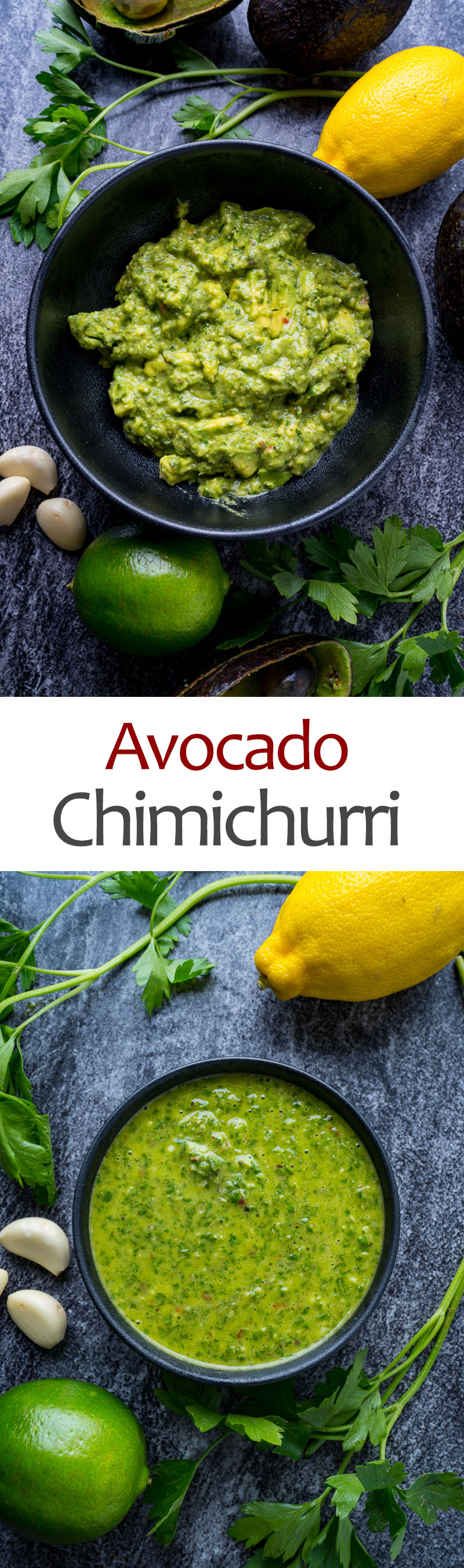 Avocado Chimichurri