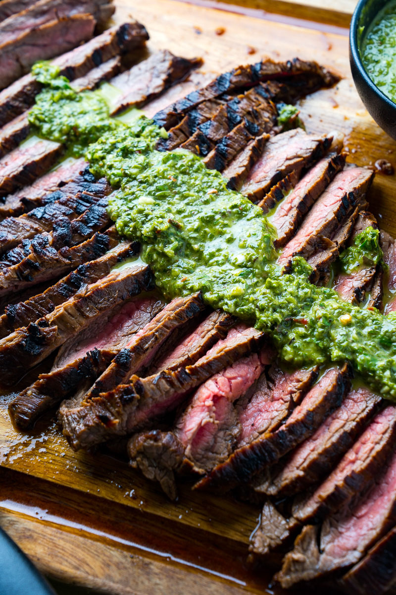 Chimichurri Grilled Steak