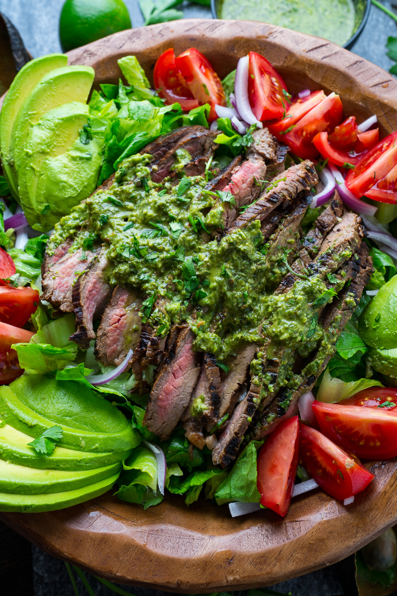 Chimichurri Steak Salad Closet Cooking