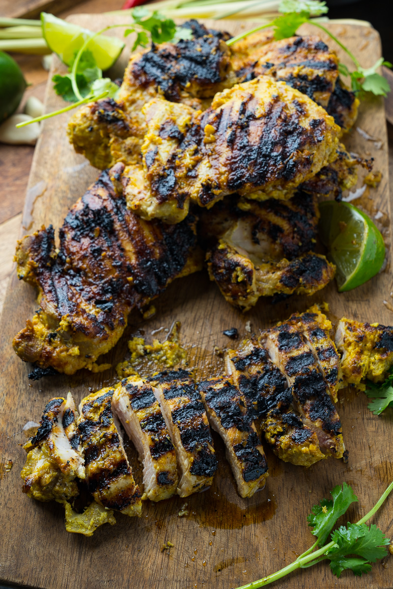 Lemongrass Grilled Chicken