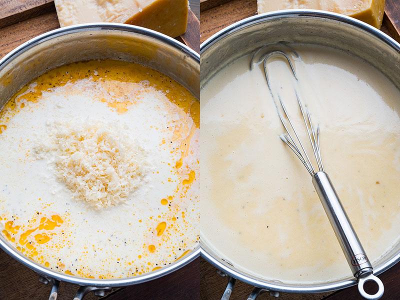 Creamy Shrimp Alfredo Linguine