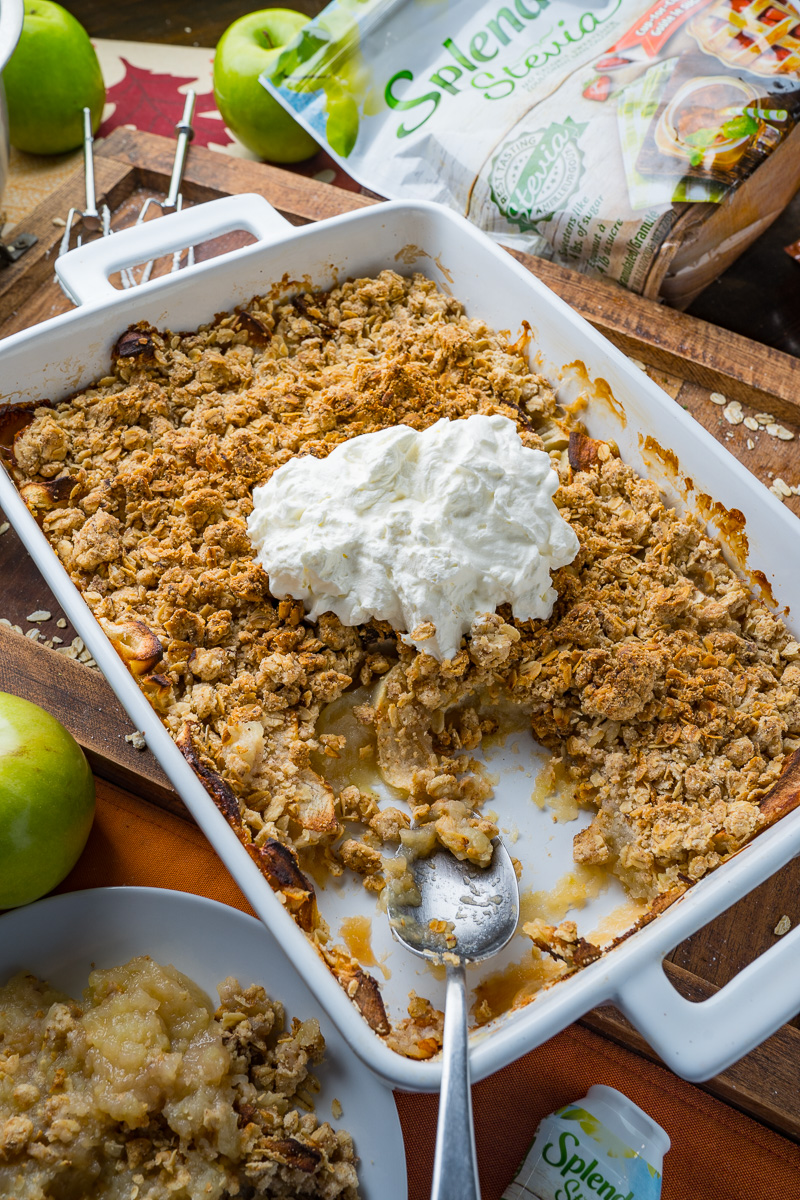 Easy Sugar Free Apple Crumble