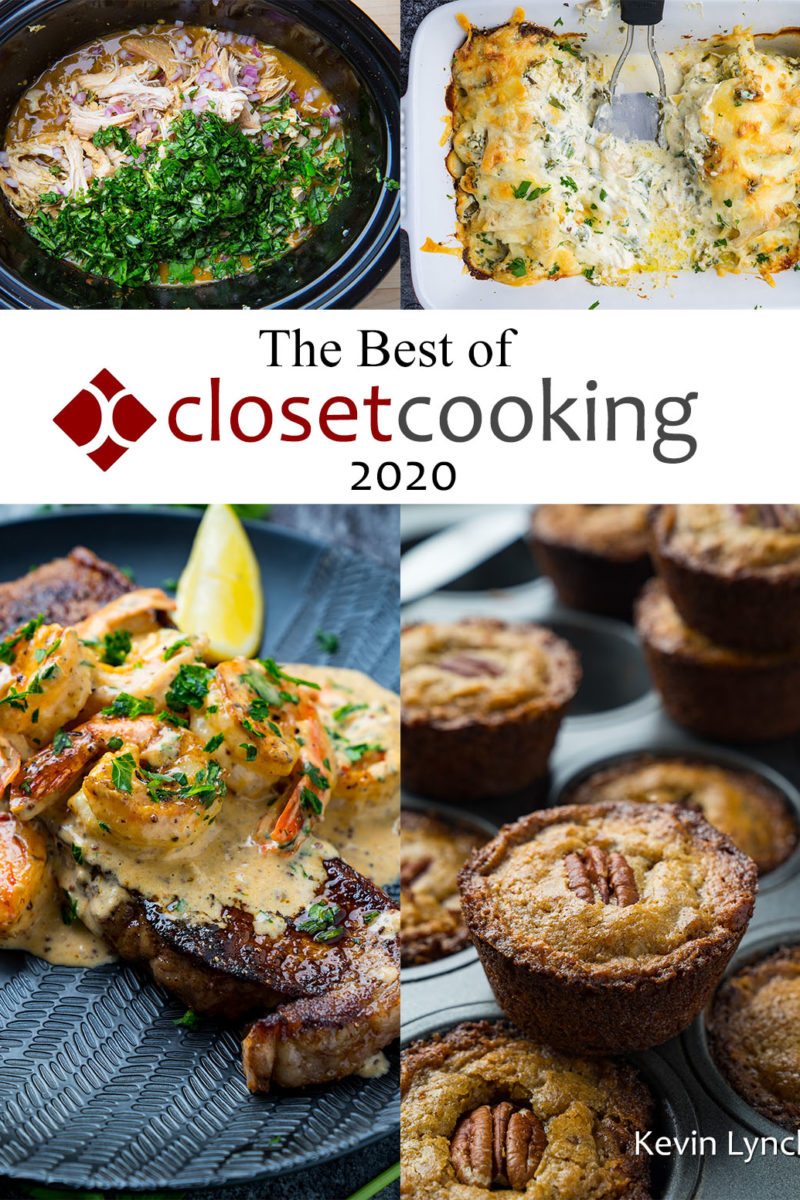 The Best of Closet Cooking 2020 Cookbook