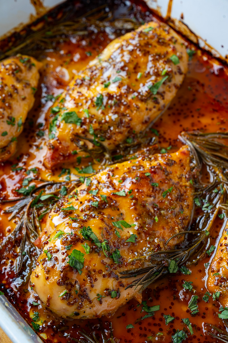 Easy Baked Honey Dijon Chicken Closet Cooking