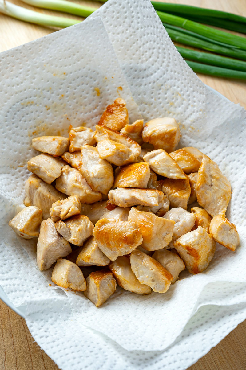20 Minute Skinny Sesame Chicken