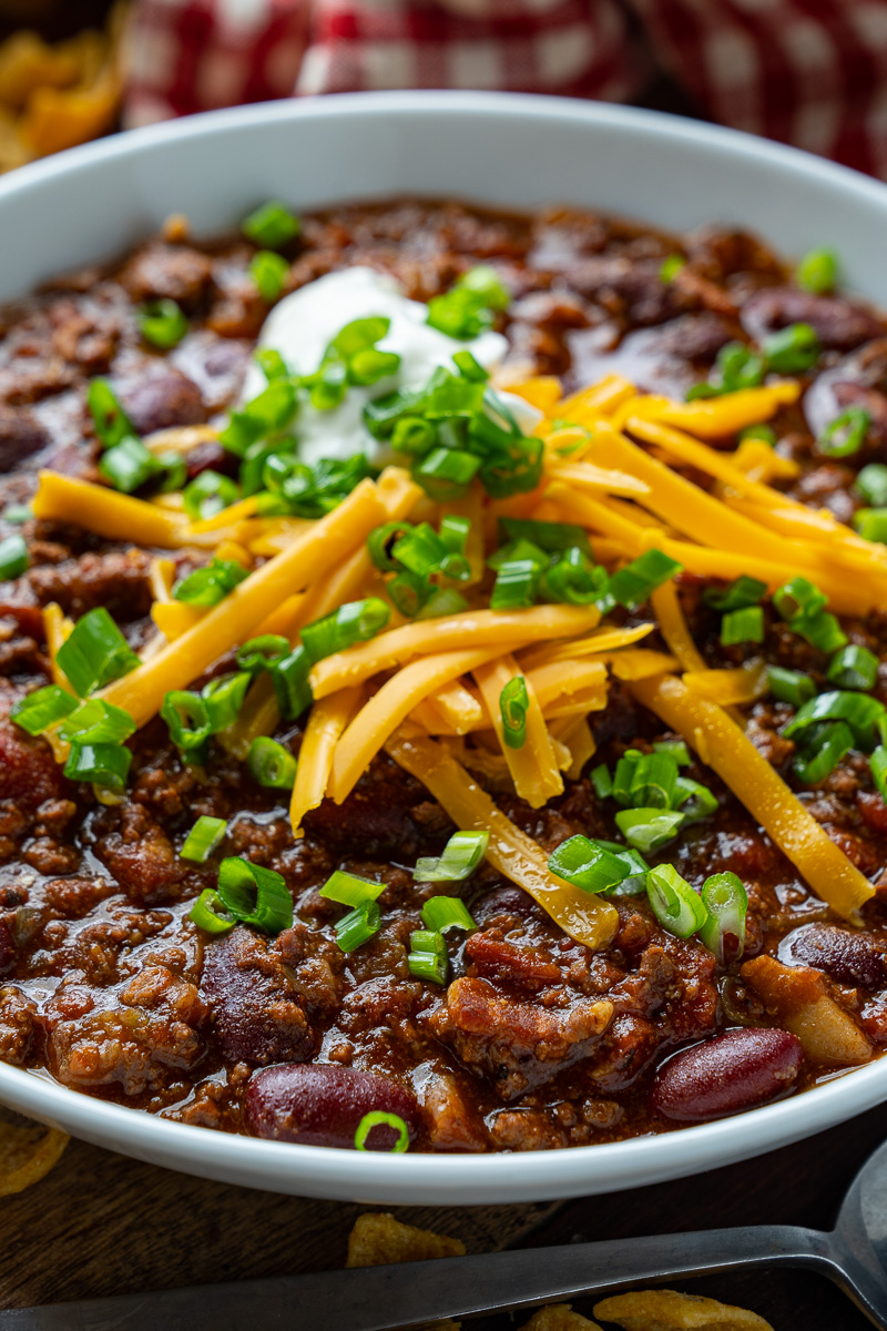 Easy Beef and Bean Chili