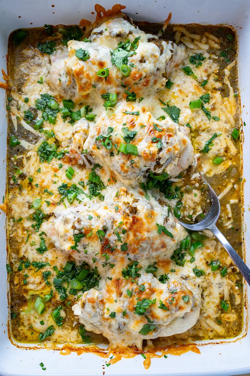 Salsa Verde Baked Chicken
