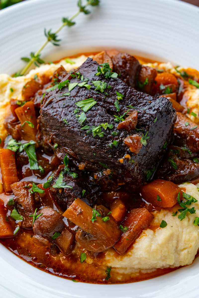 French Style Braised Short Ribs