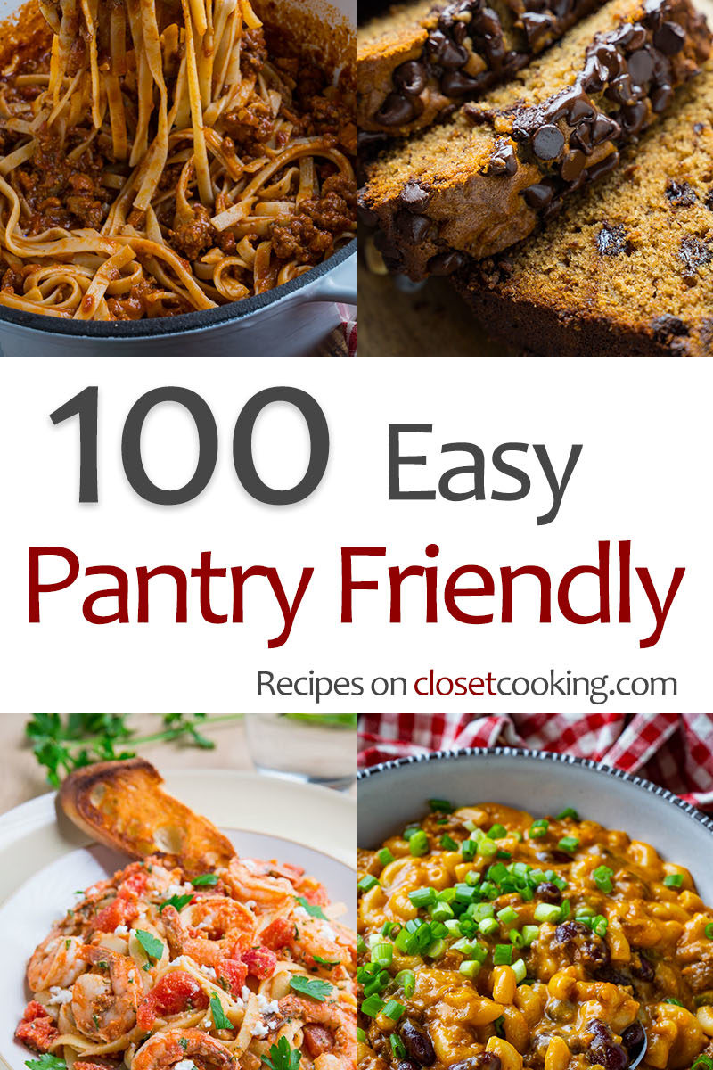 Pantry Friendly Recipes