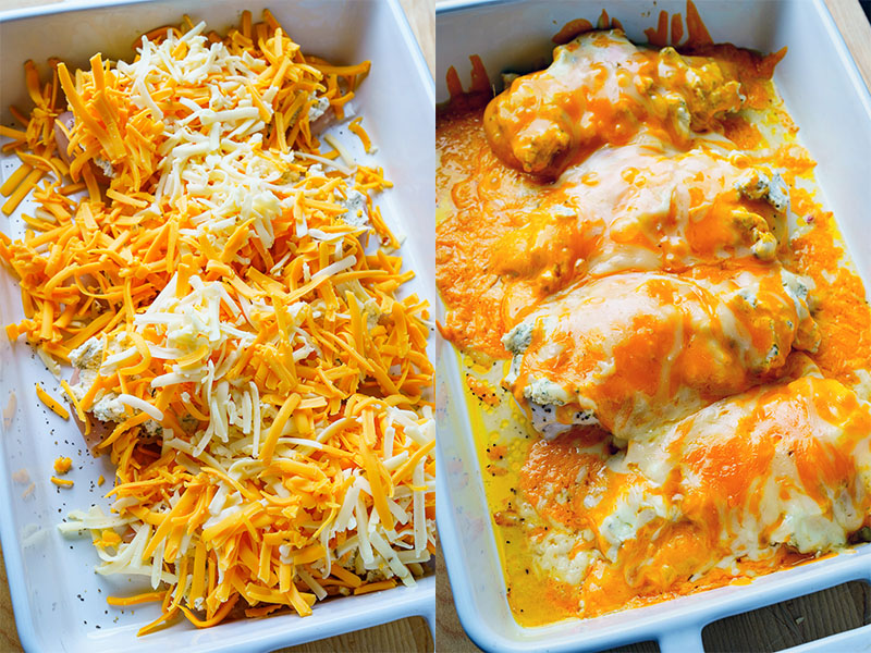 Bacon Ranch Baked Cheddar Chicken