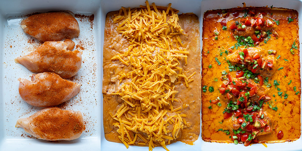 Chile Con Queso Baked Chicken