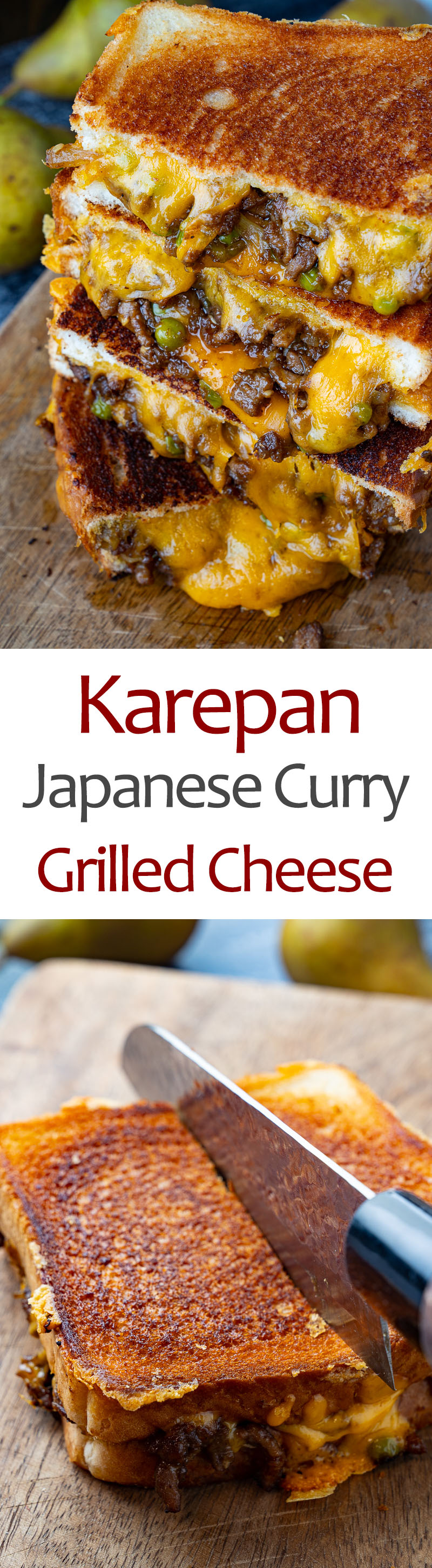 Karepan (Japanese Curry Grilled Cheese)