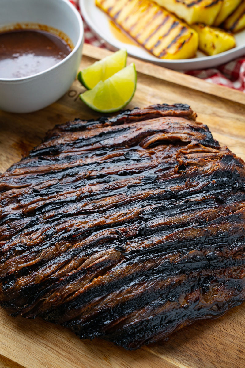 Korean Style Grilled Flank Steak