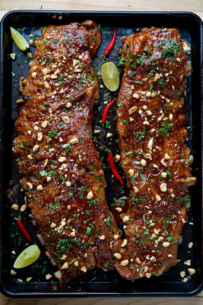 Thai Style Sweet Chili Ribs