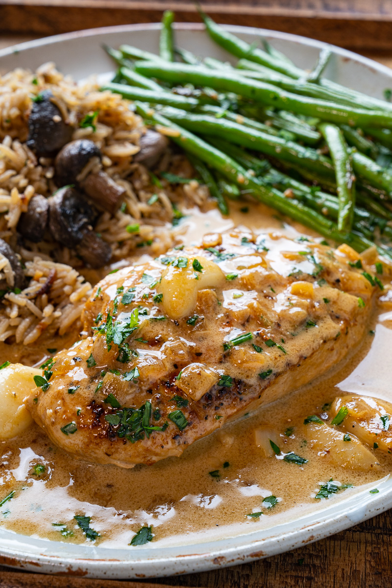 Creamy Skillet Garlic Chicken