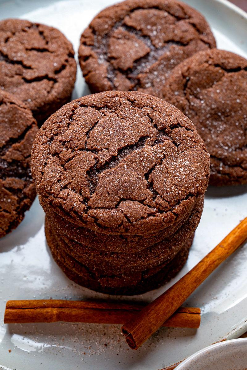 Chocolate Snickerdoodles