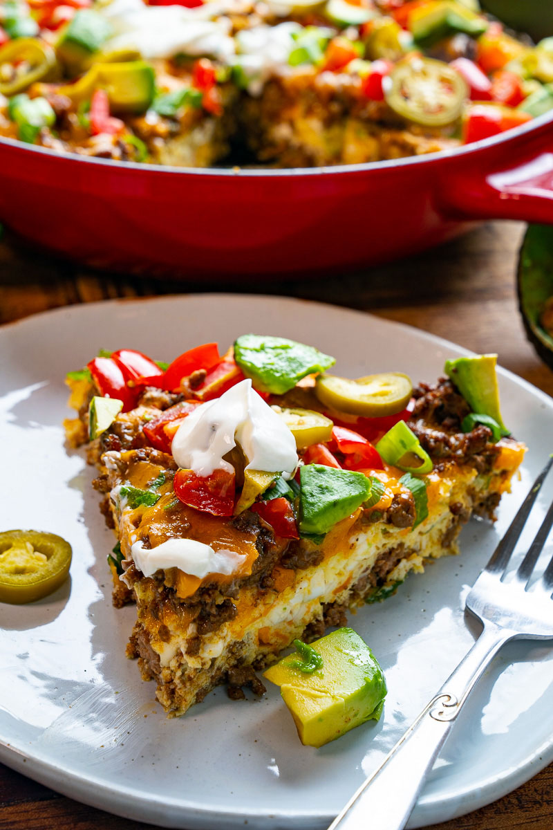 Taco Egg Casserole