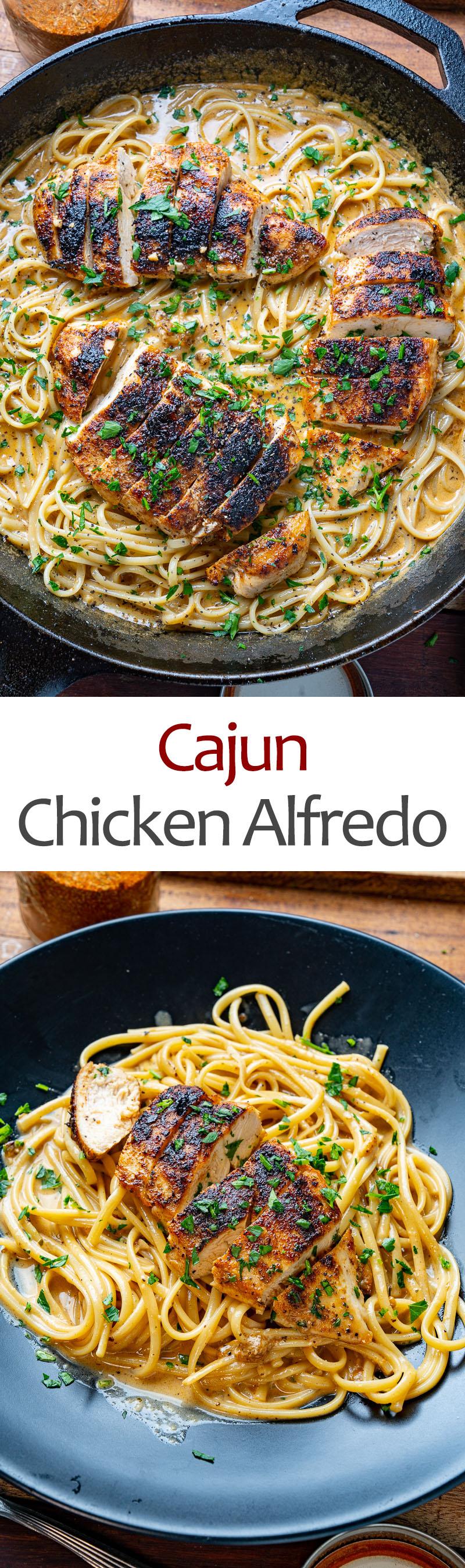 Cajun Chicken Alfredo