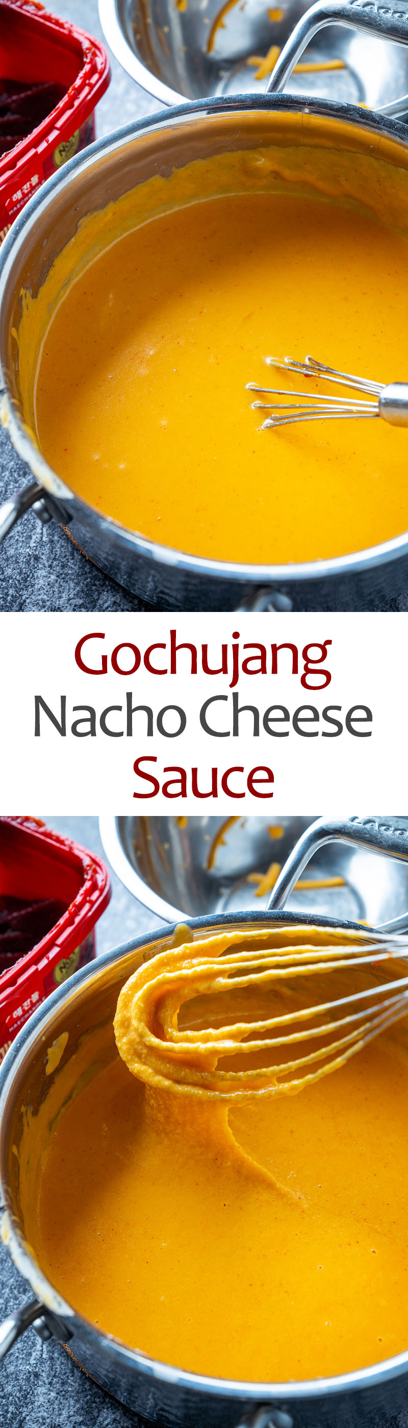Gochujang Nacho Cheese Sauce