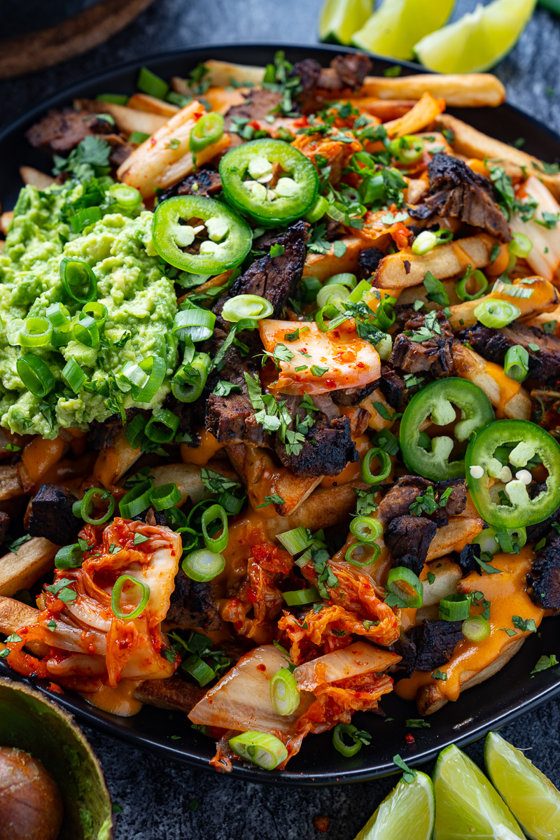 Korean Steak Nacho Cheese Fries