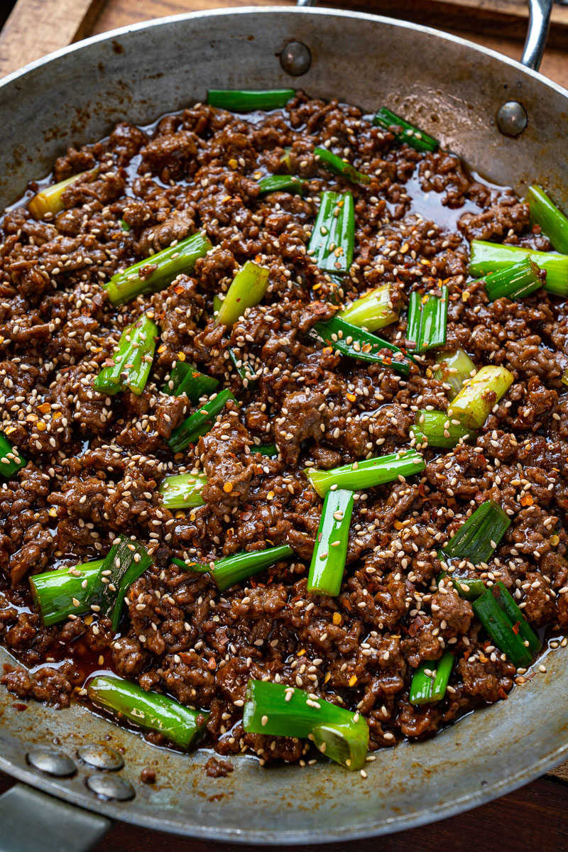 Mongolian Ground Beef