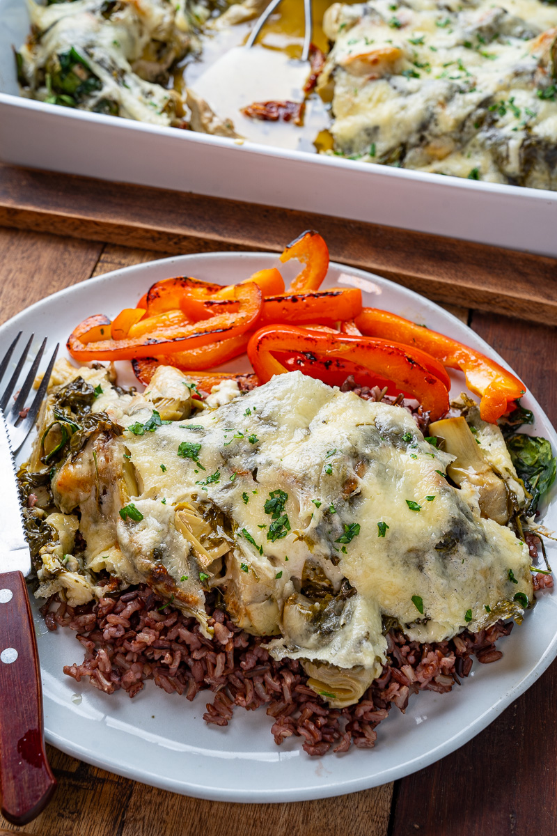 Tuscan Baked Chicken