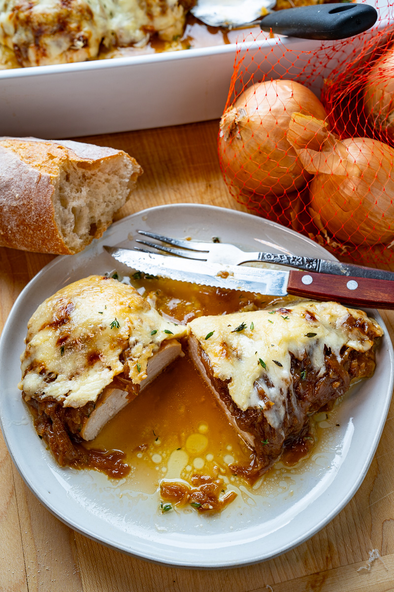 French Onion Baked Chicken