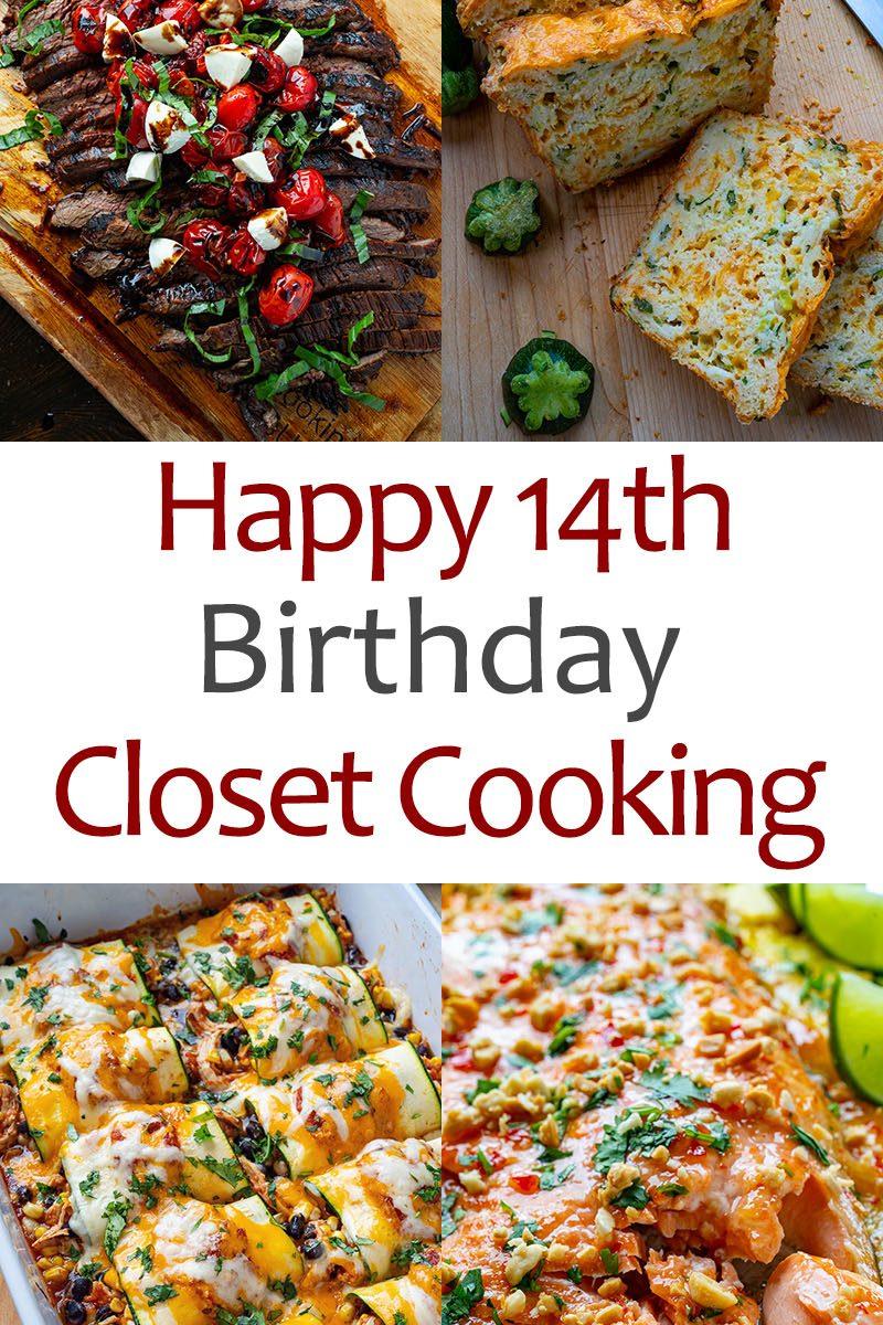 Happy 14th Birthday Closet Cooking