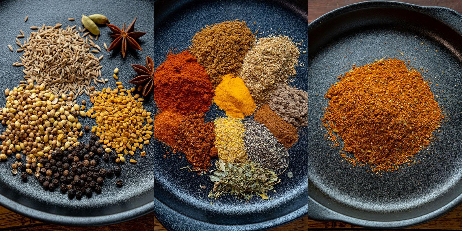Lamb Madras Powder