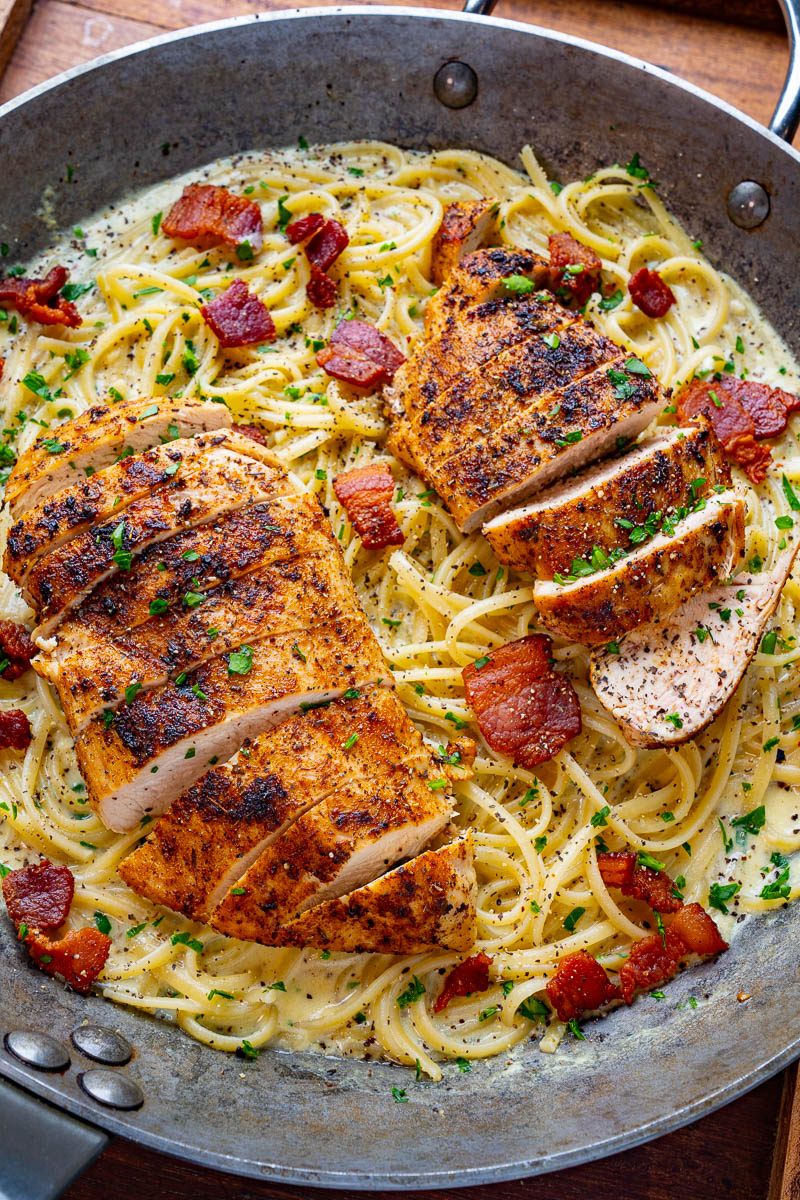 Cajun Chicken Carbonara