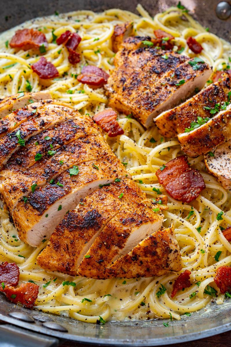 Cajun Chicken Carbonara
