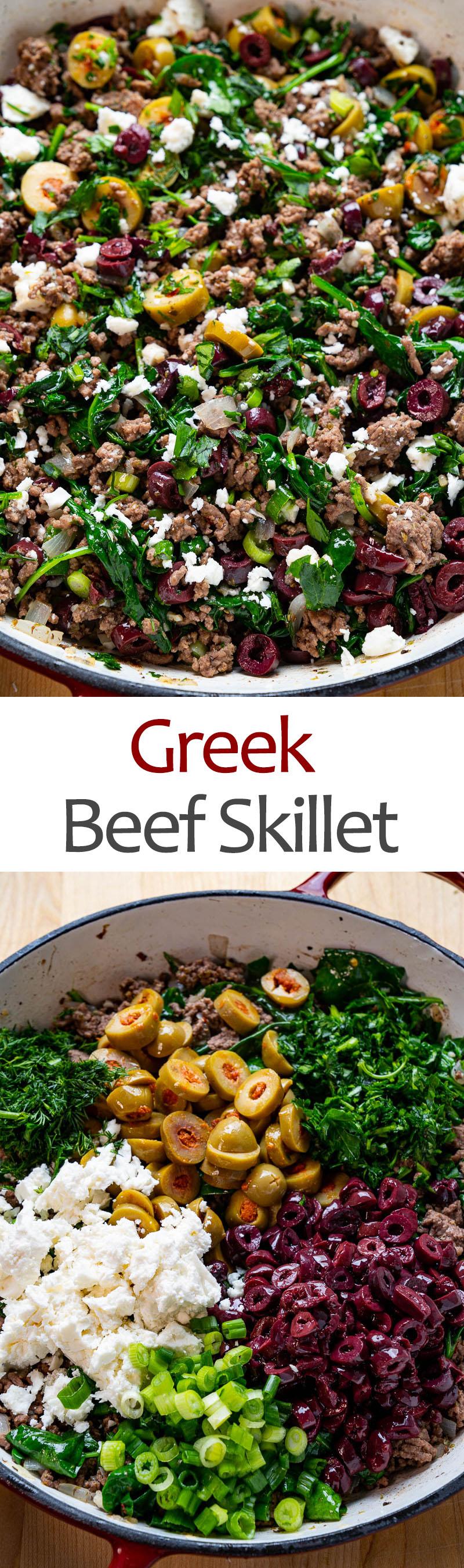 Greek Beef Skillet