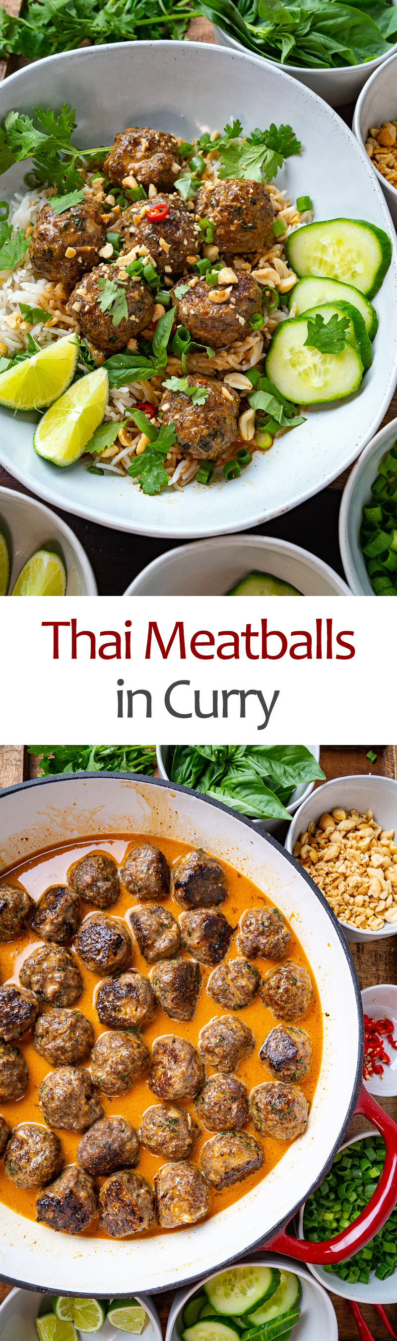 Thai Meatballs in Curry
