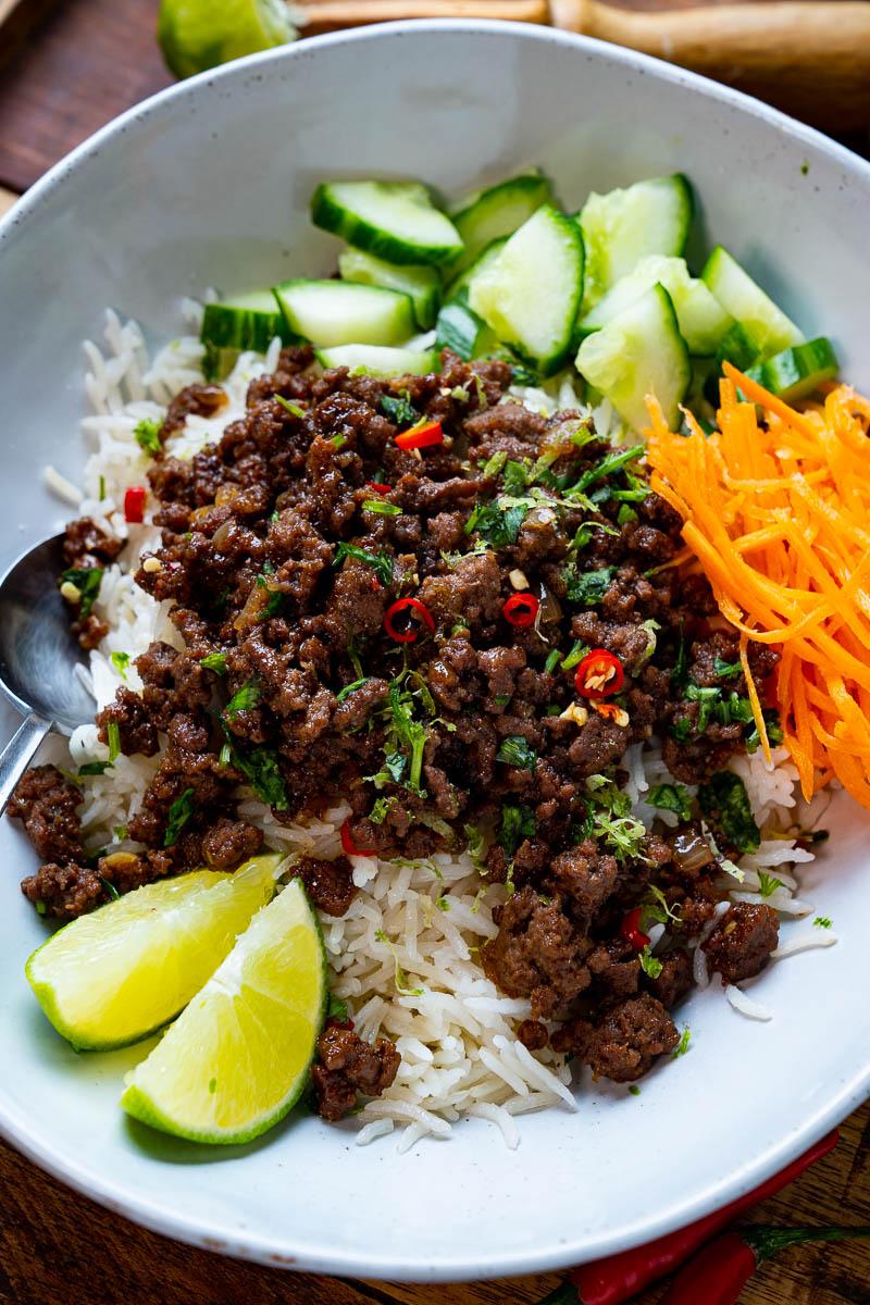 20 Minute Vietnamese Caramel Beef