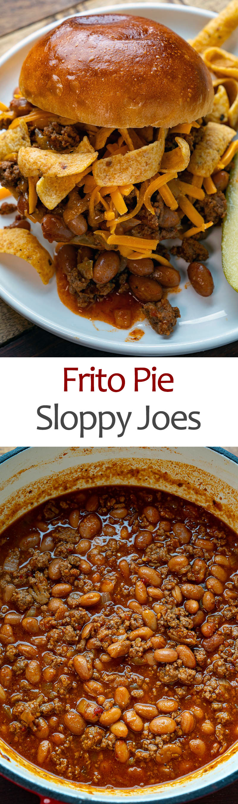Frito Pie Sloppy Joes