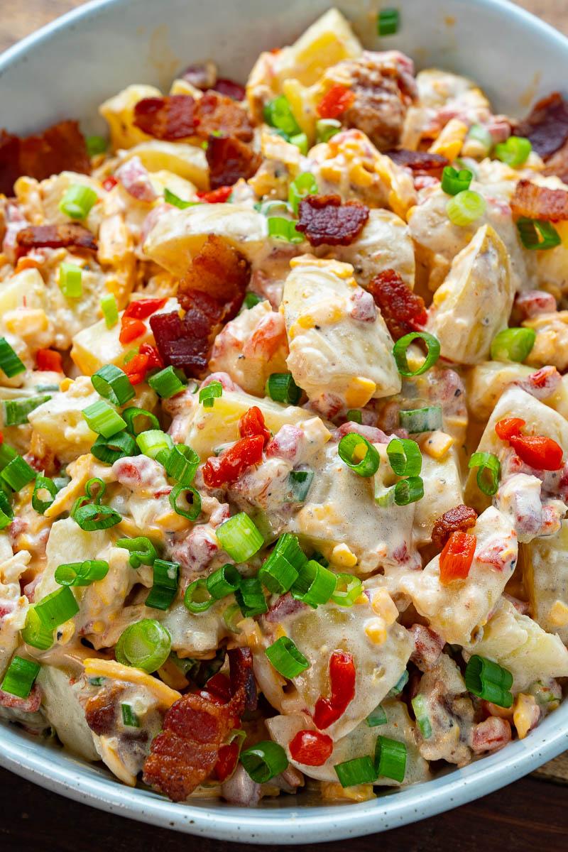 Bacon Pimento Cheese Potato Salad