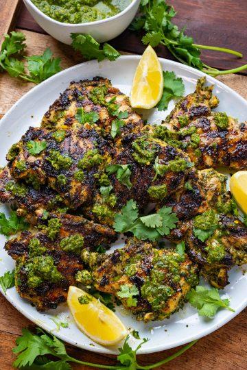 Grilled Chermoula Chicken