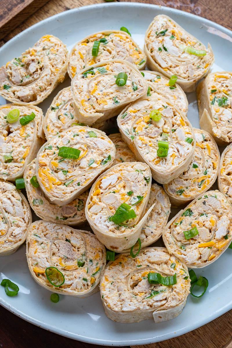 Chicken Taco Tortilla Roll Ups