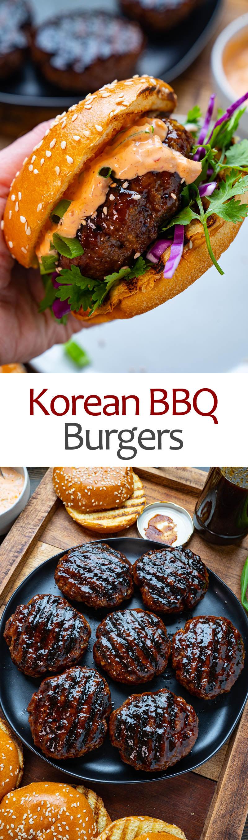 Korean BBQ Burgers