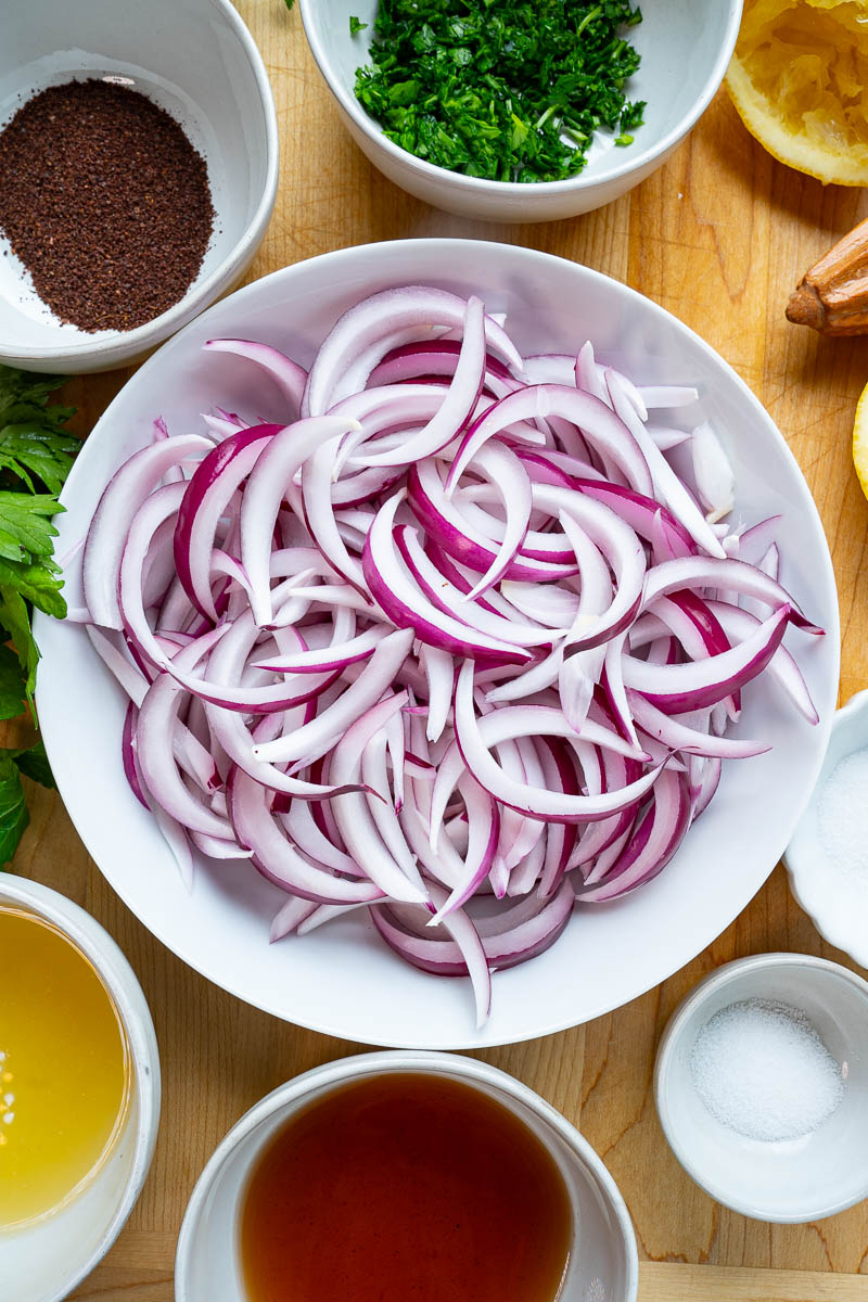 Sumac Onions