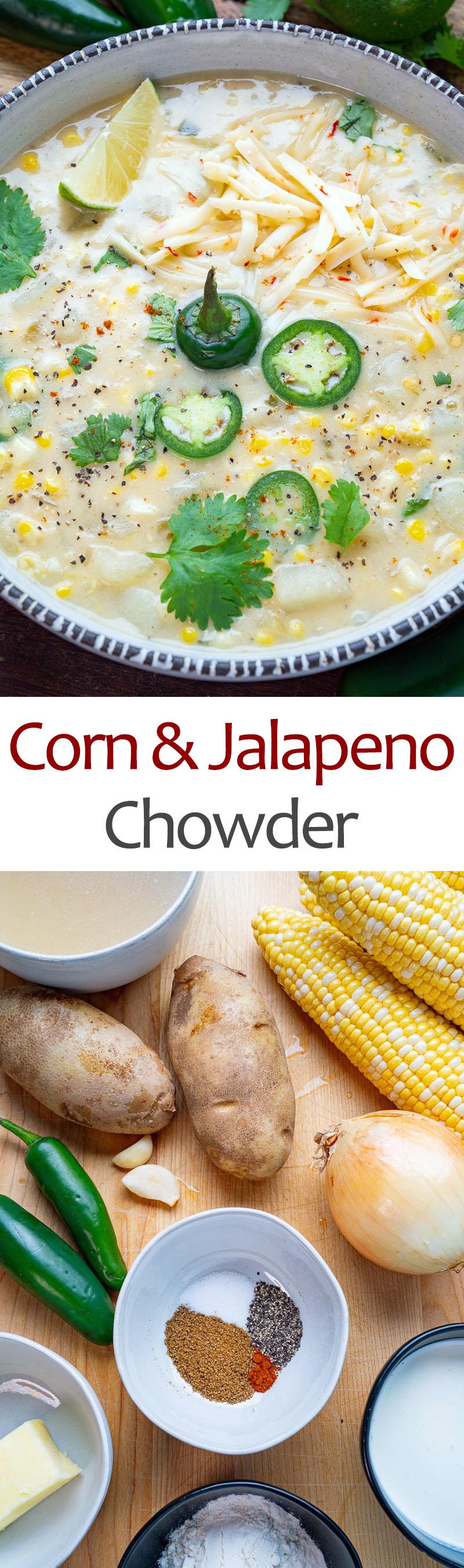 Corn and Jalapeno Chowder