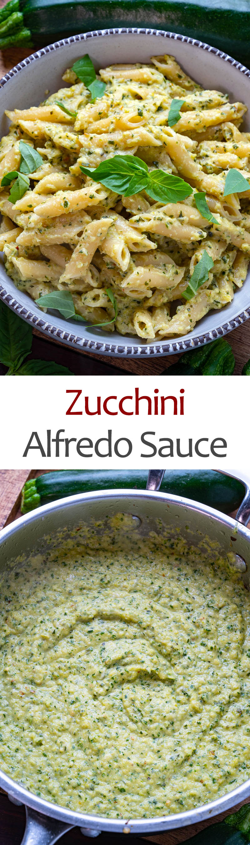 Zucchini Alfredo Sauce