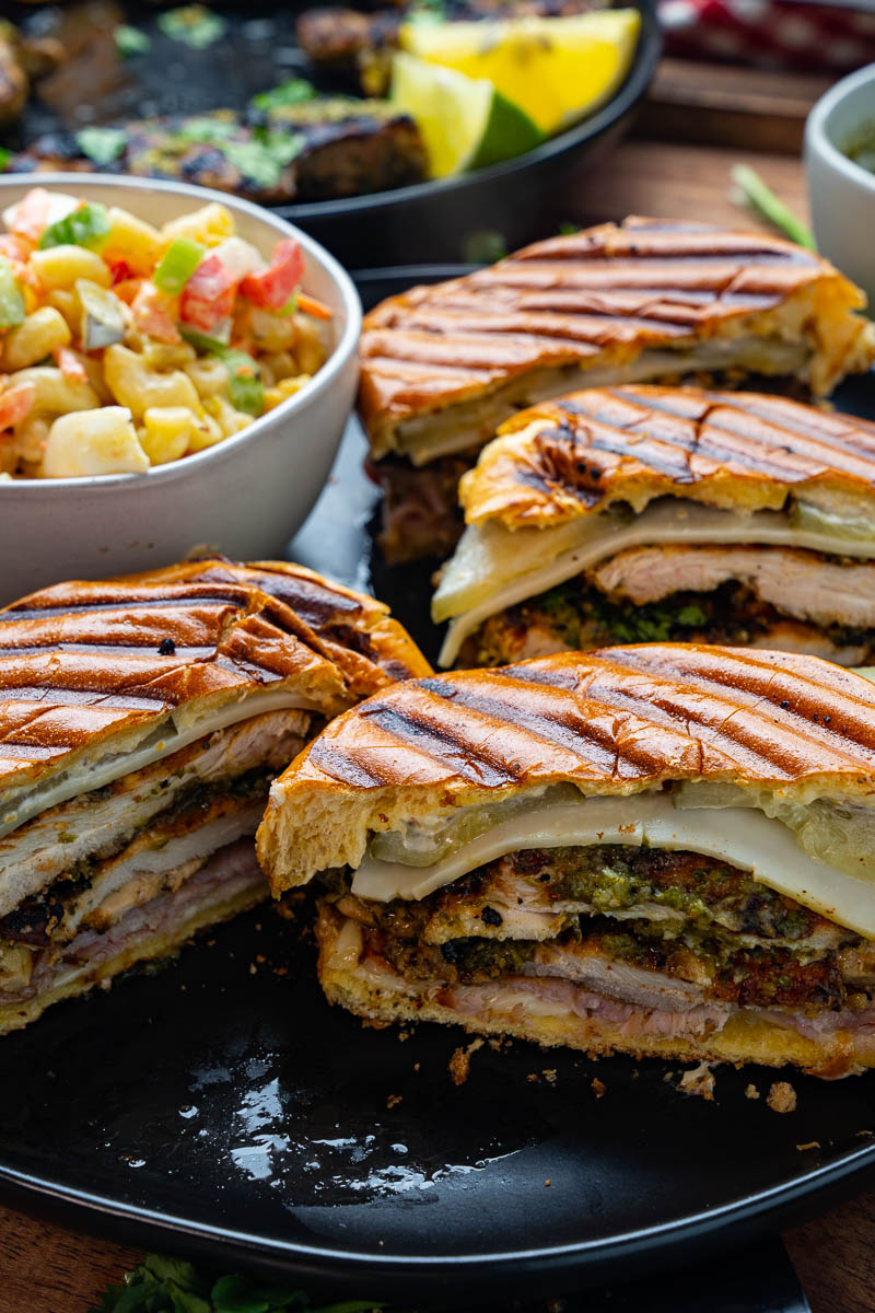 Grilled Mojo Chicken Cuban Sandwich